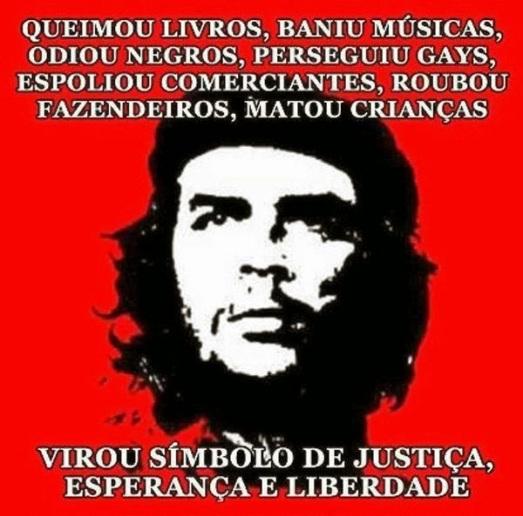 Che Guevara lixo